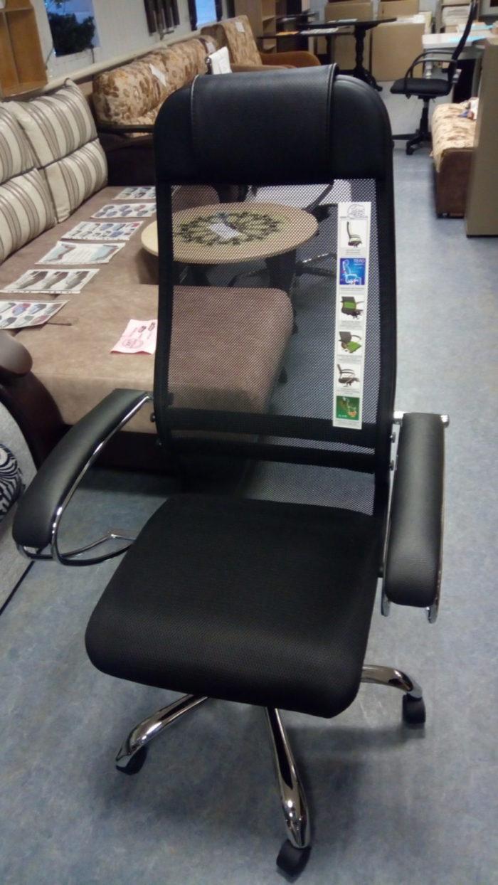 Кресло компьютерное SU-1BK-8 черное