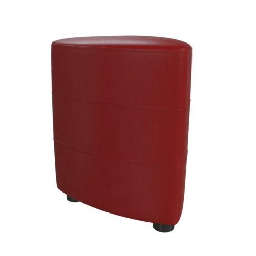 Банкетка-пуф Норд 6-5117 красный