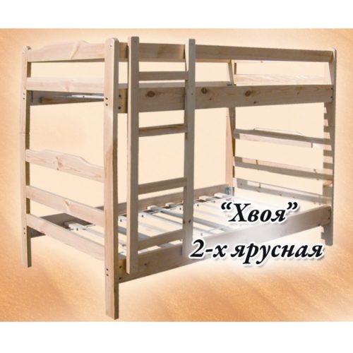 Кровать Хвоя 2-ух ярусная