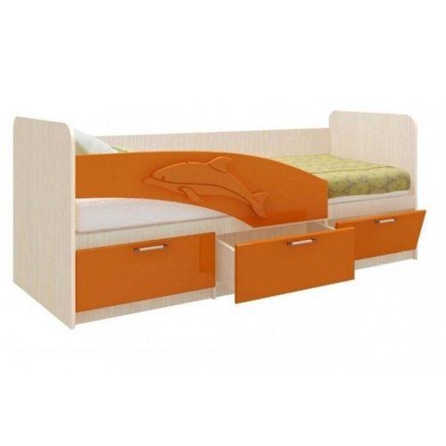 Кровать Дельфин (1,6; 1,8; 2,0)