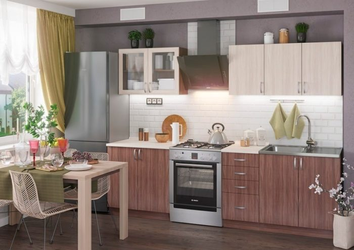 Кухня Татьяна 2 метра