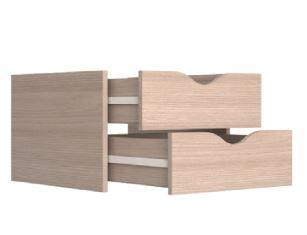 Модуль с ящиками для шкафов-купе Элна