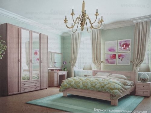 Спальня Береста