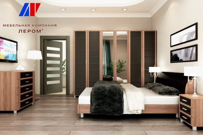 Спальня модульная КАМЕЛИЯ