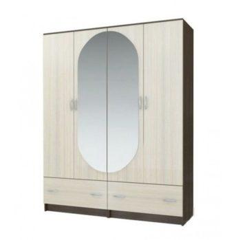 ШК 4 Шкаф 4х дверный с зеркалом