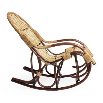 Плетёное кресло-качалка Усмань (профиль)