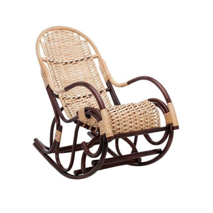 Плетёное кресло-качалка Усмань