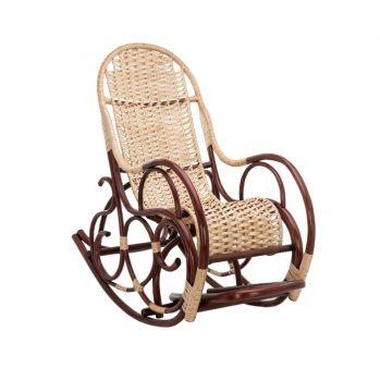 Плетёное кресло-качалка Ведуга