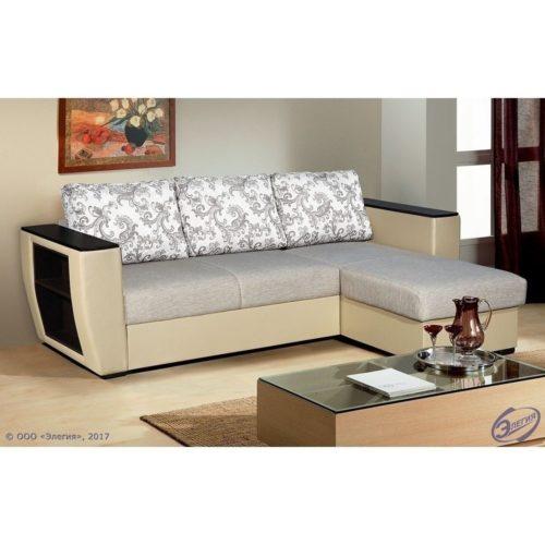 """Угловой диван """"Вега 21"""" 3 подушки"""
