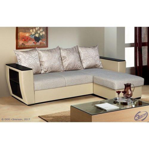 """Угловой диван """"Вега 21"""" 4 подушки"""