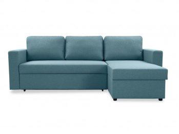 """Угловой диван """"Фишер-Торонто"""" Голубой - фас"""