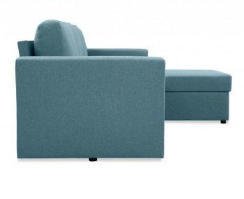 """Угловой диван """"Фишер-Торонто"""" Голубой - профиль"""
