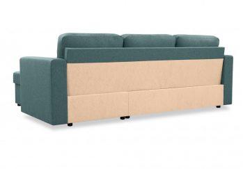 """Угловой диван """"Фишер-Торонто"""" Серый - вид сзади"""