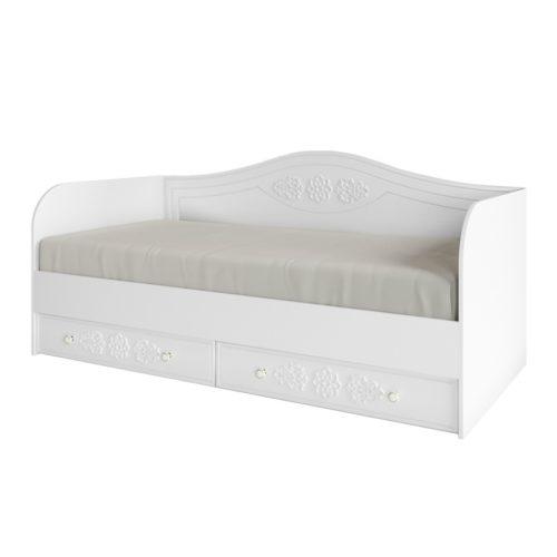 Детская кровать с ящиками ДКД 2000.1 (Ki-Ki)