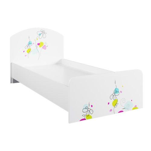 Детская кровать КРД 900.1 - Радуга