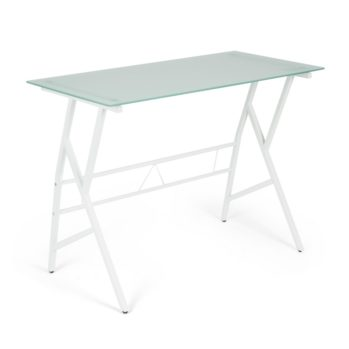 Стеклянный стол GD-02 white