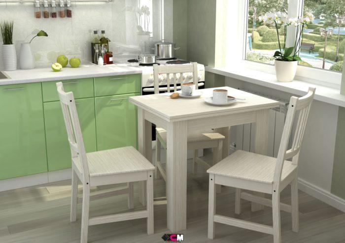 Кухонный стол раскладной